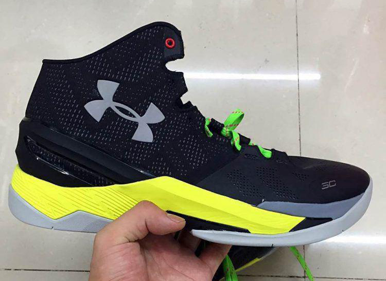 under armour curry 2 green yellow
