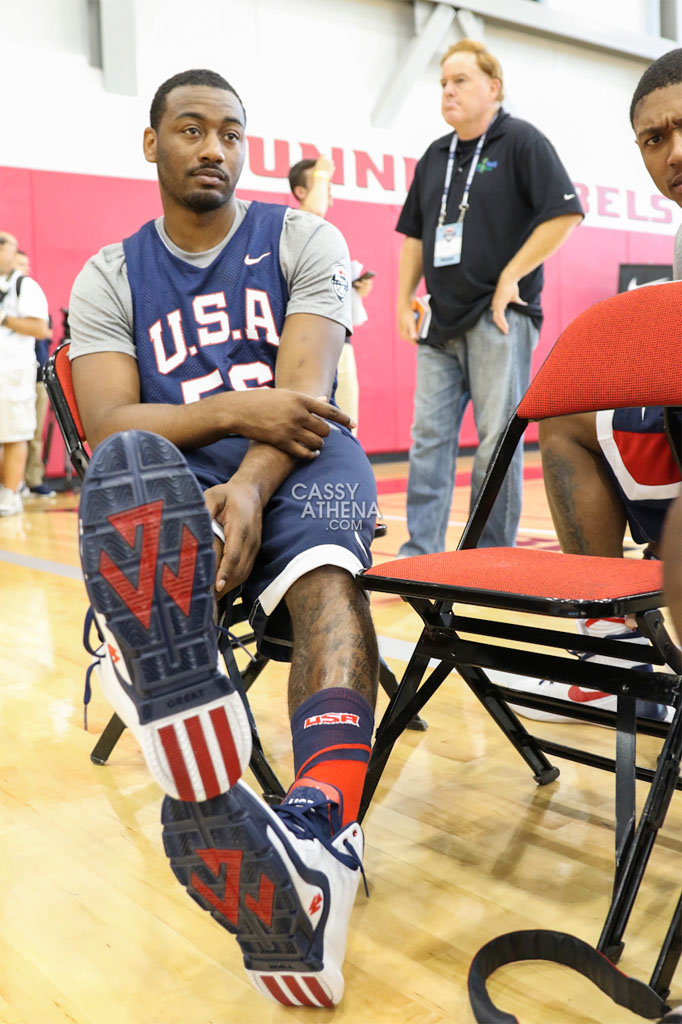 Solewatch the best sneakers worn at usa basketball for John wall tattoo