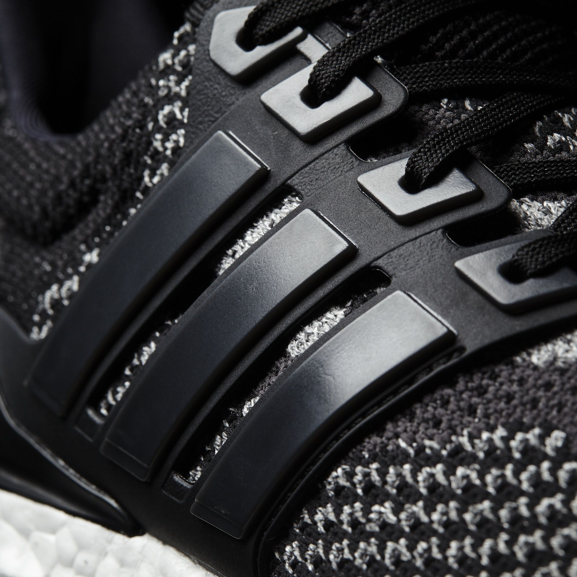 Black Adidas Ultra Boost Reflective Cage