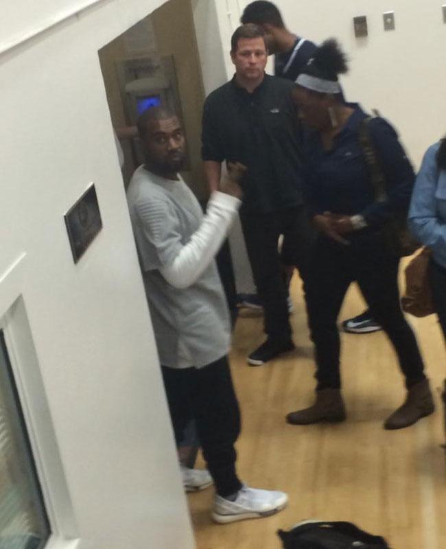 3288ca4b0d619 Kanye West wearing adidas Y3 Qasa Racer (2)