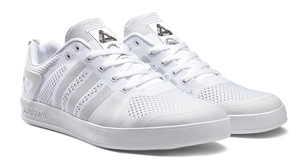 wholesale dealer 613c9 57286 adidas Palace Pro Primeknit Black White-Gum