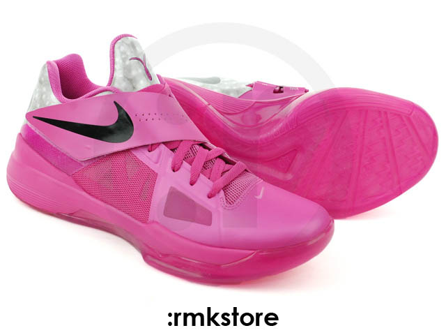 Nike Zoom KD IV Aunt Pearl Think Pink Kay Yow 473679-601 (3)