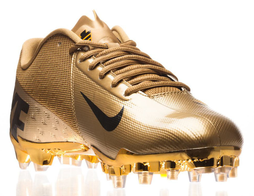 Nike Elite11 Vapor Talon Elite Cleats - Gold (9)