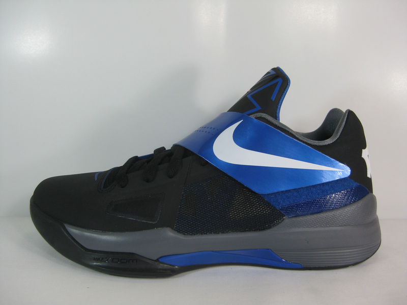 Nike Zoom KD IV Black White Varsity Royal 473679-006 (3)