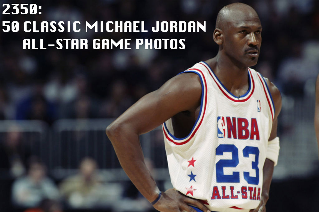 2350 // 50 Classic Michael Jordan All-Star Game Photos