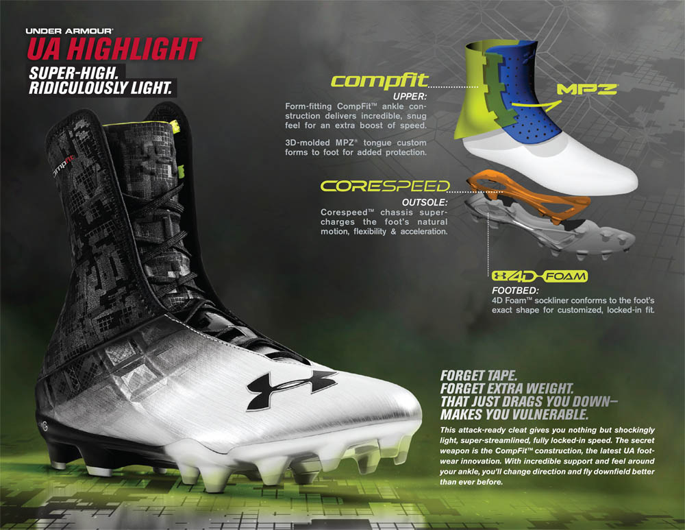 cb974b45135 high top under armour football cleats cheap   OFF65% The Largest ...