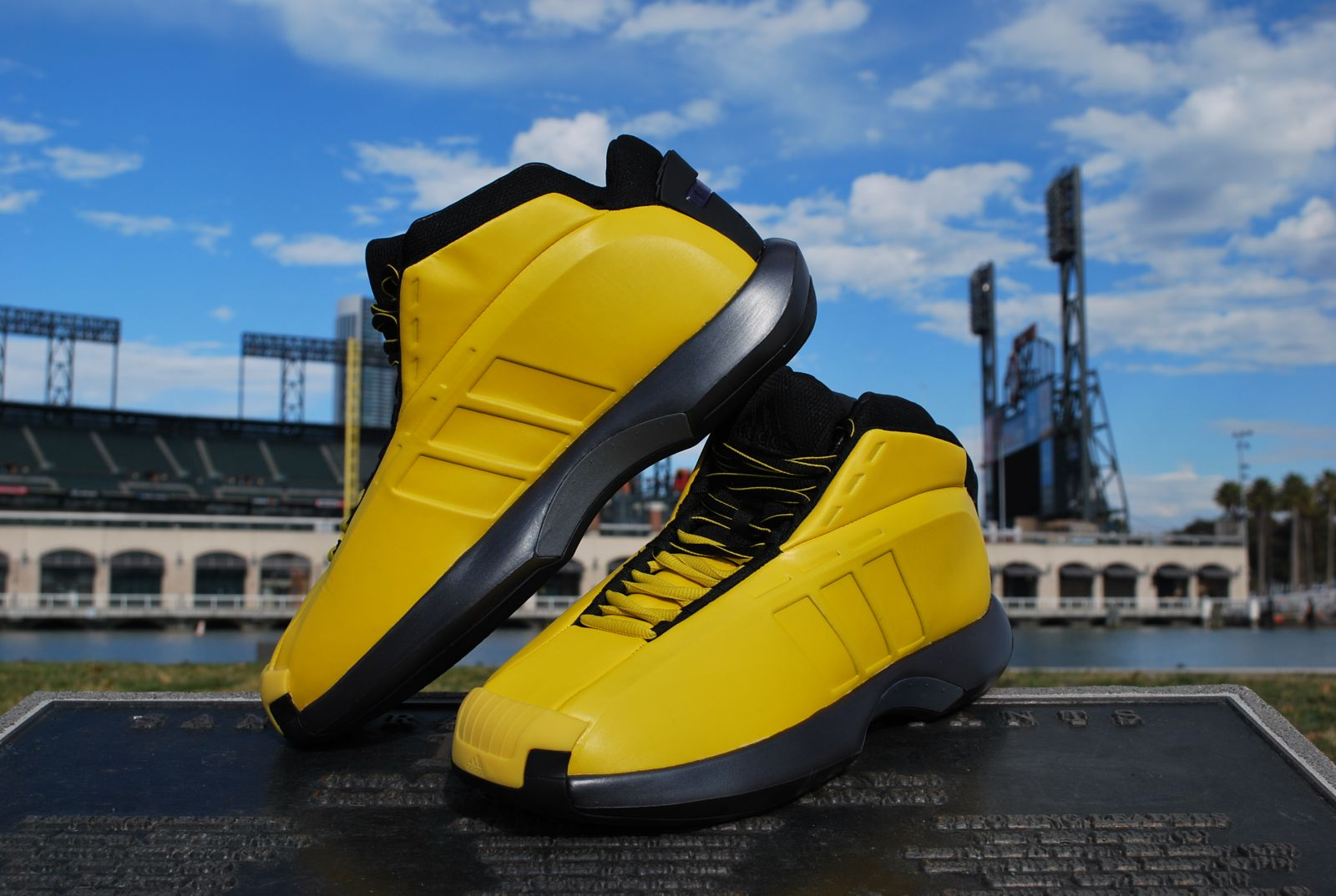 adidas Crazy 1 Sunshine at ATT Park