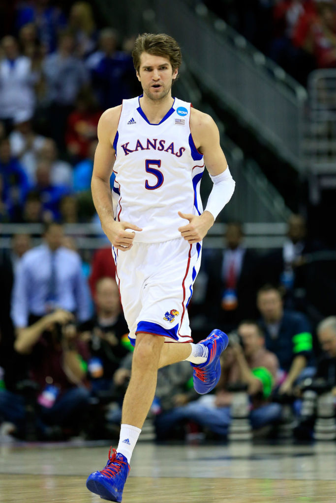 Jeff Withey wearing adidas Crazy Fast
