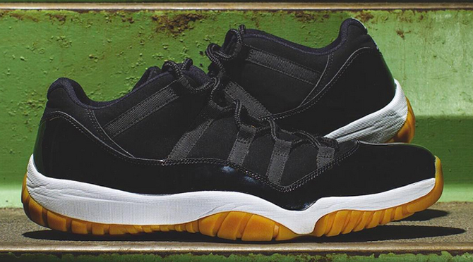 Here s a Better Look at the Mysterious  Gum Bottom  Air Jordan 11s ... 39f8bcfb4a7f