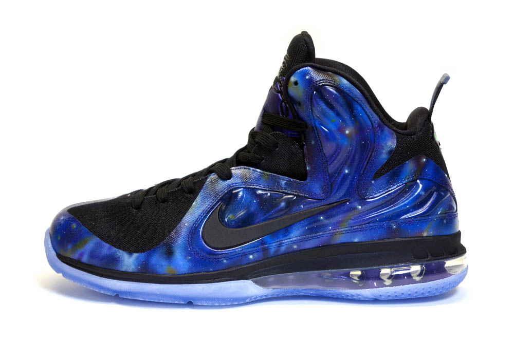 online store 21428 6ec34 Nike LeBron 9 Foamposite Galaxy by C2 Customs (1)