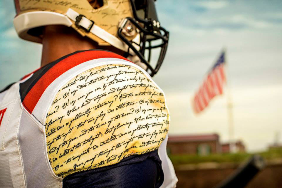 Maryland's Under Armour 'Star-Spangled Banner' Uniforms (9)