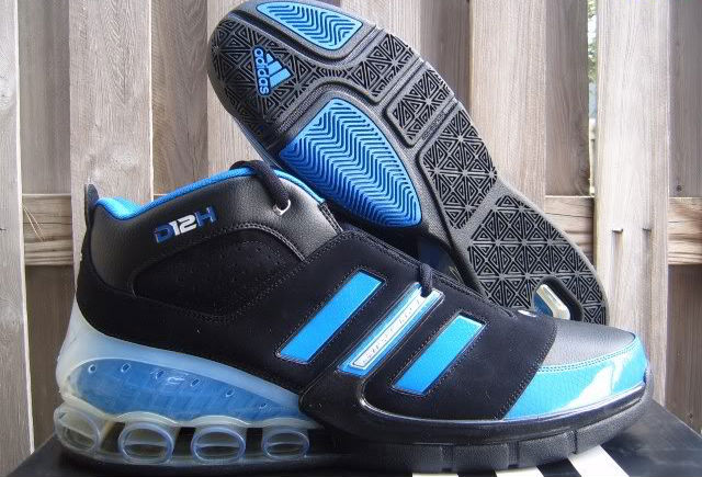 33834b6ce Dwight Howard s Orlando Magic adidas Sneaker History - adidas Bounce  Artillery Away (1)