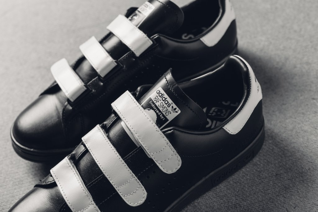 Raf Simons Adidas Stan Smith Comfort Black White Tongue