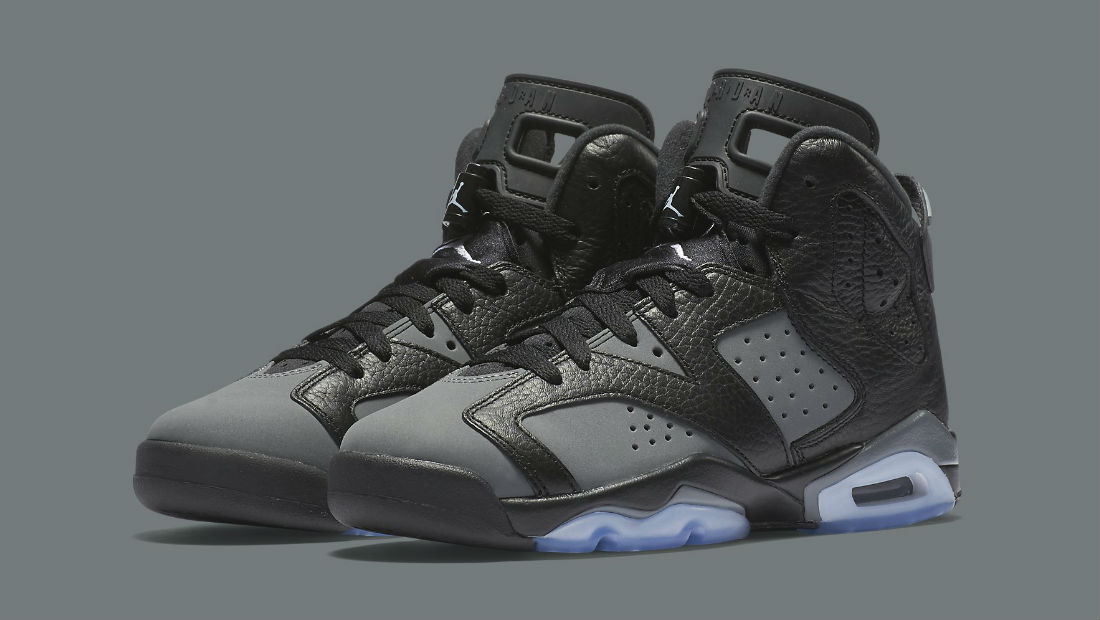 womens air jordan 6 grey
