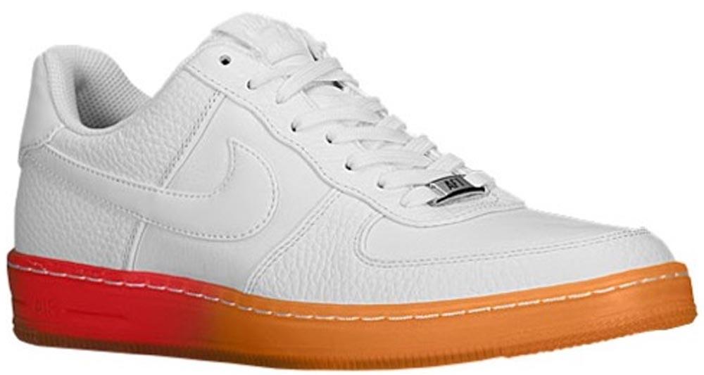 Nike Air Force 1 Downtown Low Breeze White/White-Light Crimson-Atomic Mango