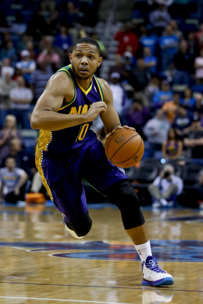Eric Gordon wearing adidas Crazy Shadow PE