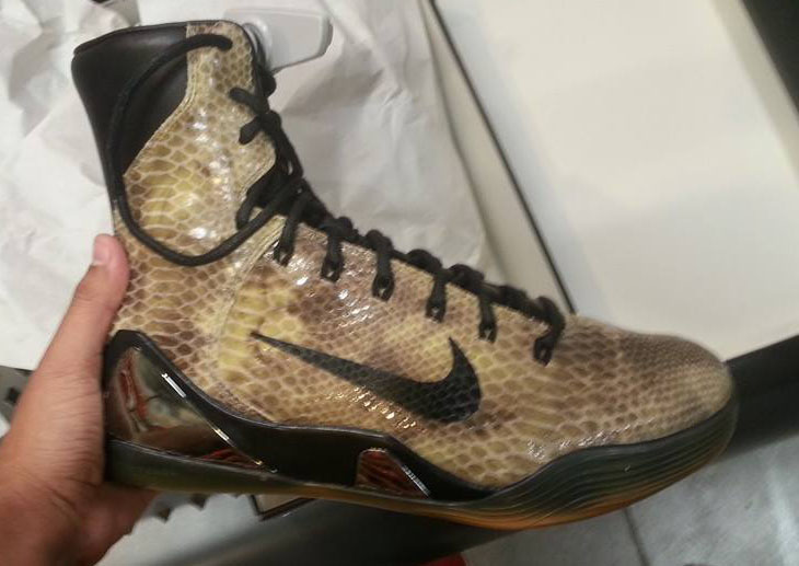 Nike Kobe IX 9 EXT Brown Snakeskin (2)