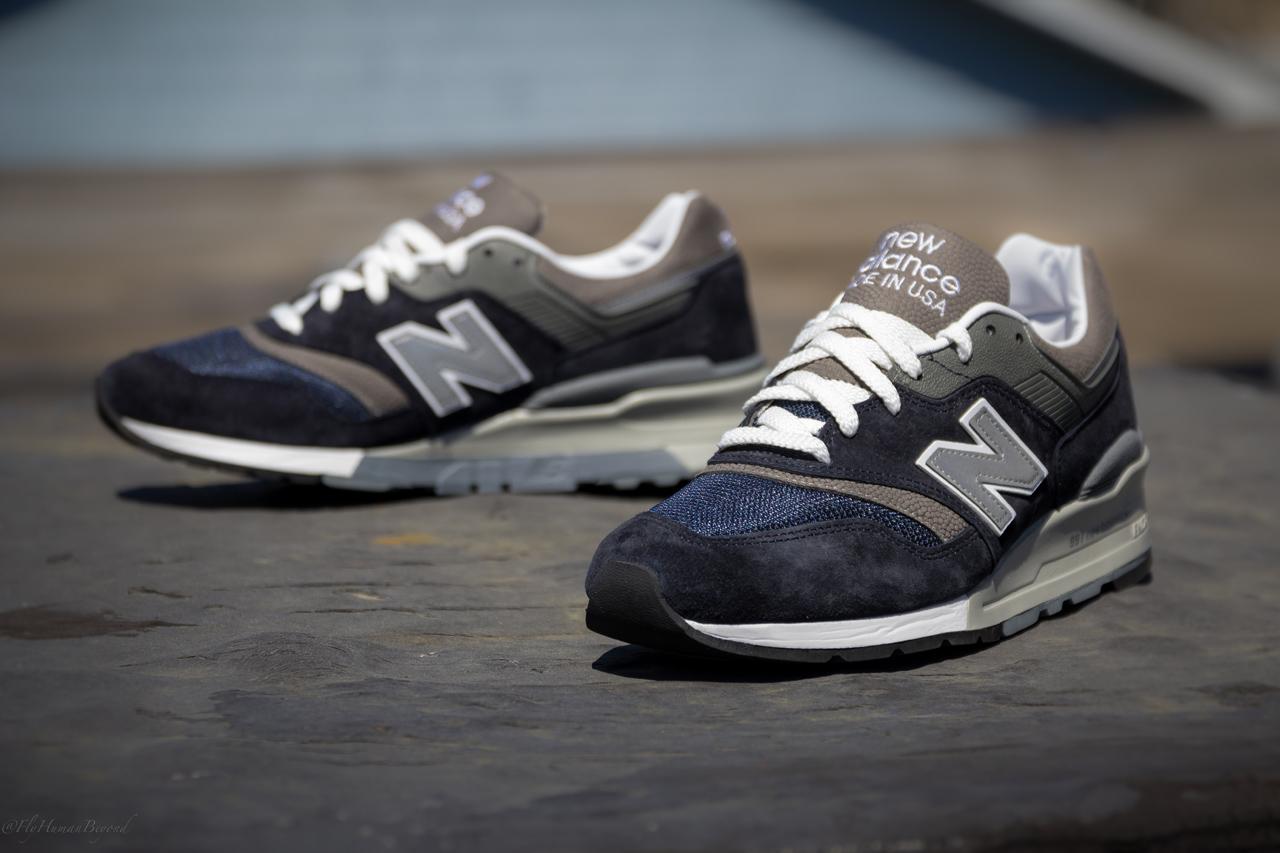 new balance made in usa 997 navy grey