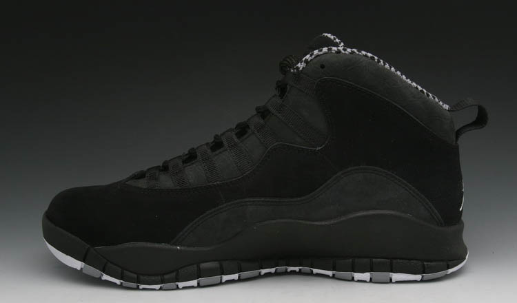Air Jordan X 10 Black White Stealth 310805-003 (3)