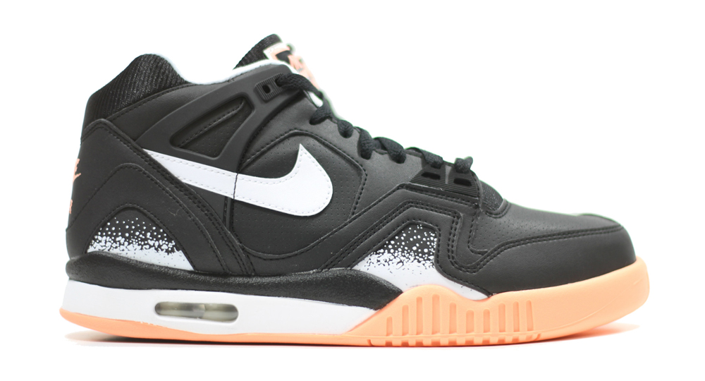 d0396ebbd6d Nike Air Tech Challenge II Color  Black Sunset Glow Style    318408-002