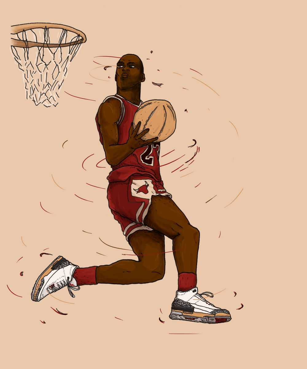 official photos b6cad b709b Greatest Dunk Contest Moments  Michael Jordan in 1988