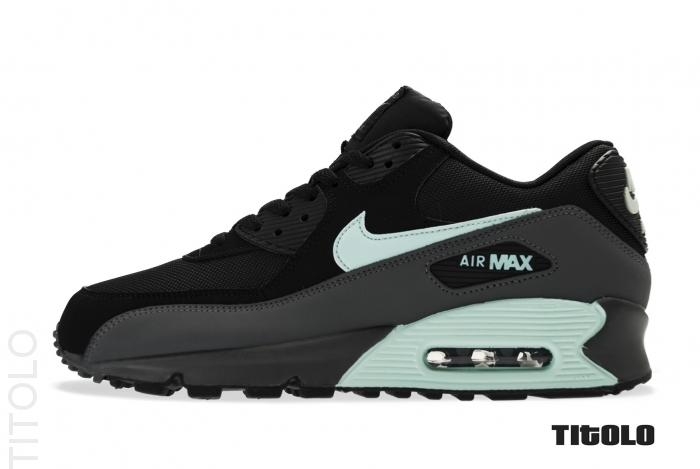 100% authentic 8bb57 b7865 Nike Air Max 90 - Black Mint Candy