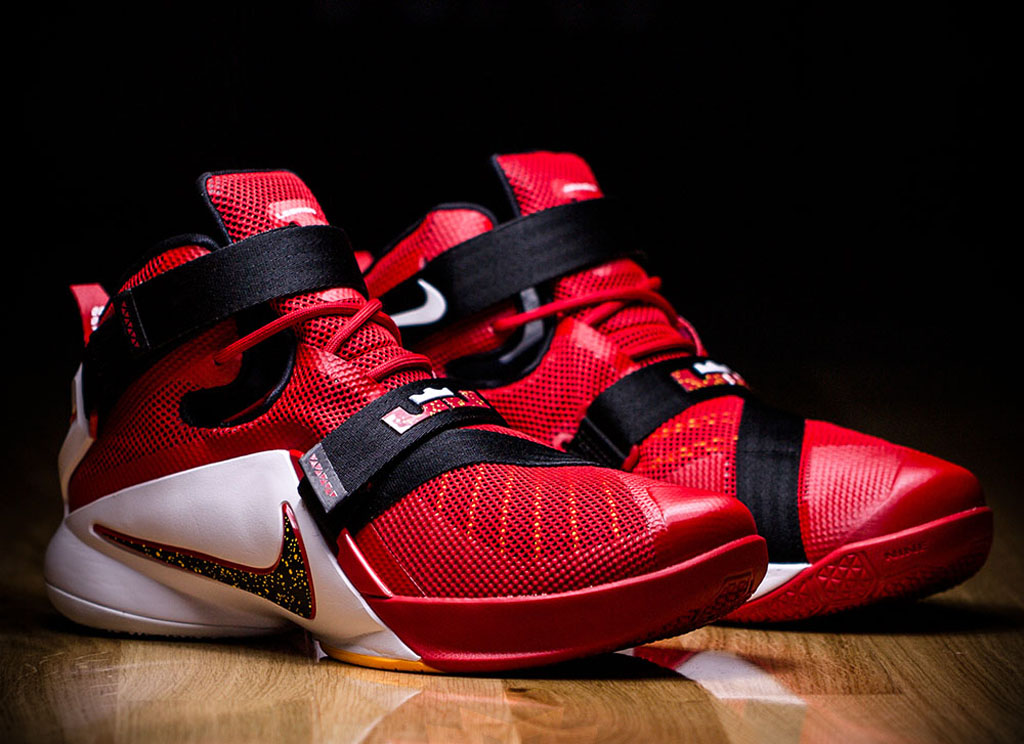 more photos 94c40 d50d5 Cavs Fans Will Be Happy With This Nike LeBron Soldier 9 ...