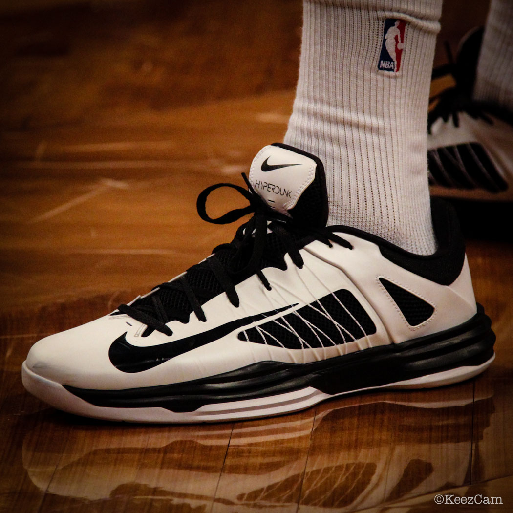 Andray Blatche wearing Nike Zoom Hyperdunk 2012 Low