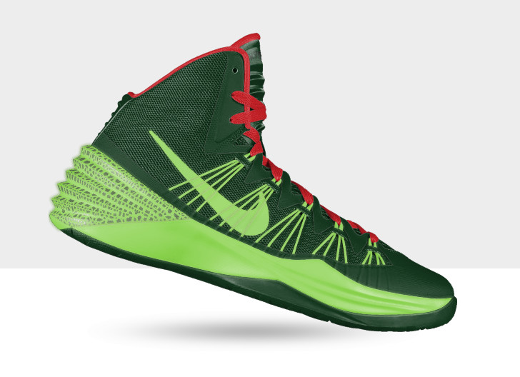 The all-new Nike Basketball Hyperdunk arrives on Nike iD with a number of  intriguing options.