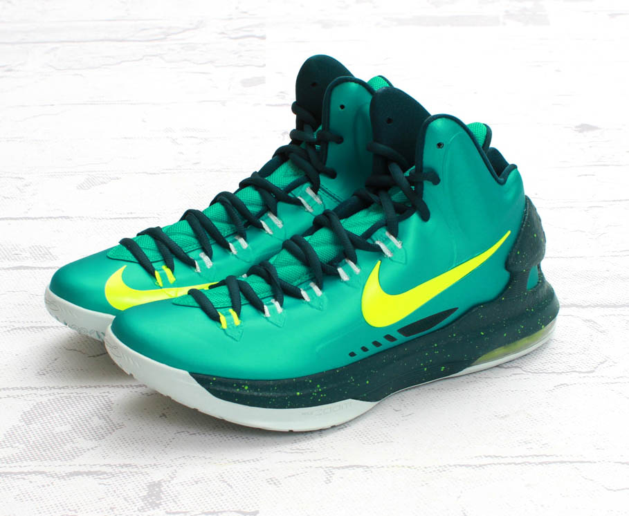 ea76b1765312 ... Nike KD V Atomic TealVolt-Fiberglass - New Images Nike Shoes ...