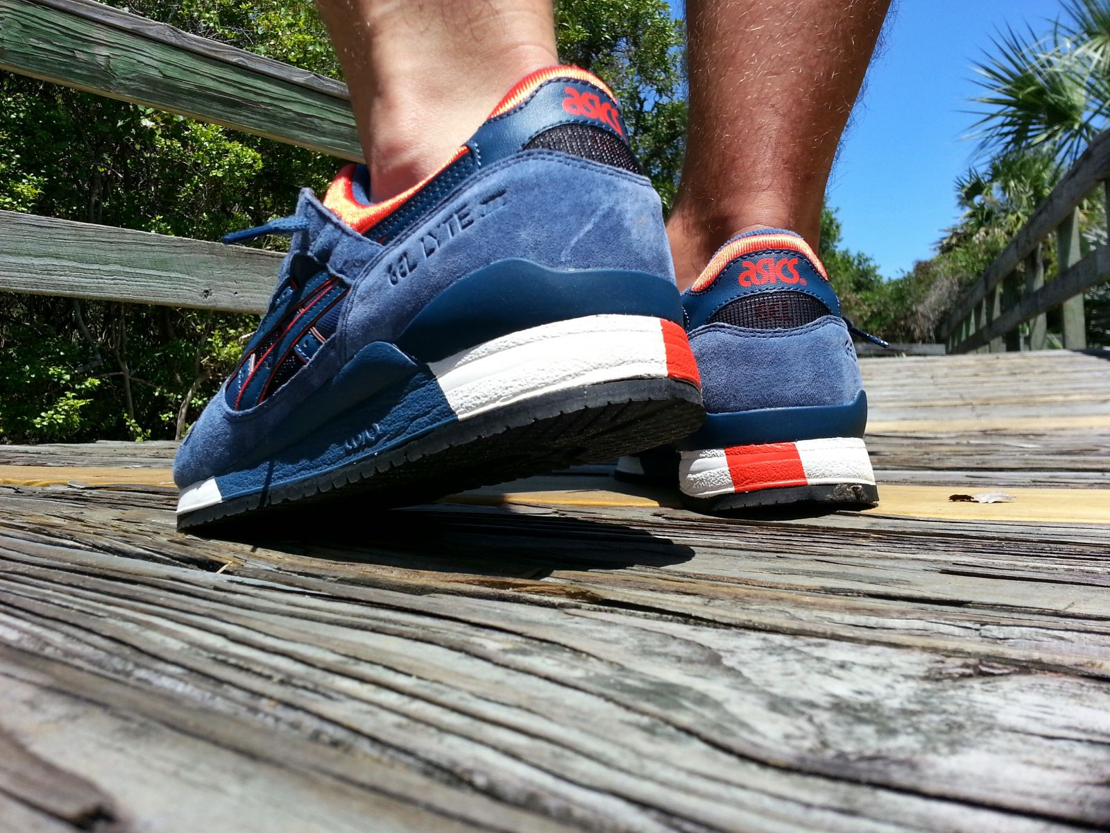 how to wear asics gel lyte 3
