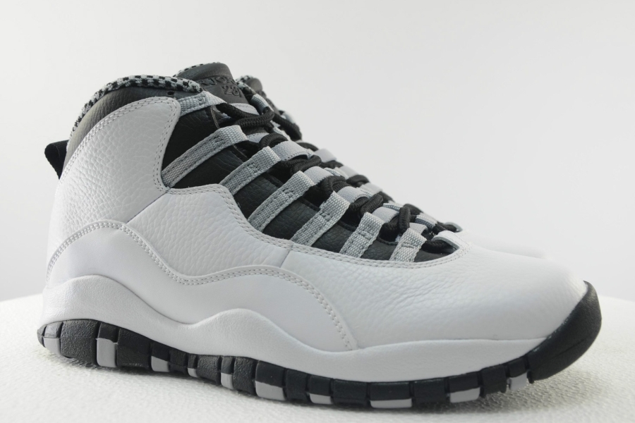 promo code 4b3be c8c7d Air Jordan 10 Retro - Steel Grey