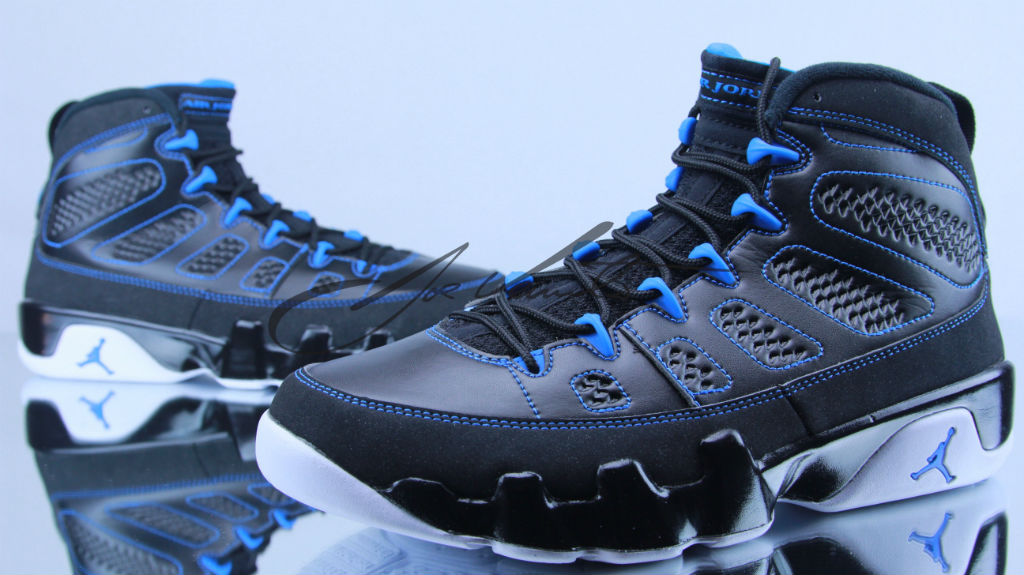 Air Jordan IX 9 Photo Blue White 302370-007 (5)