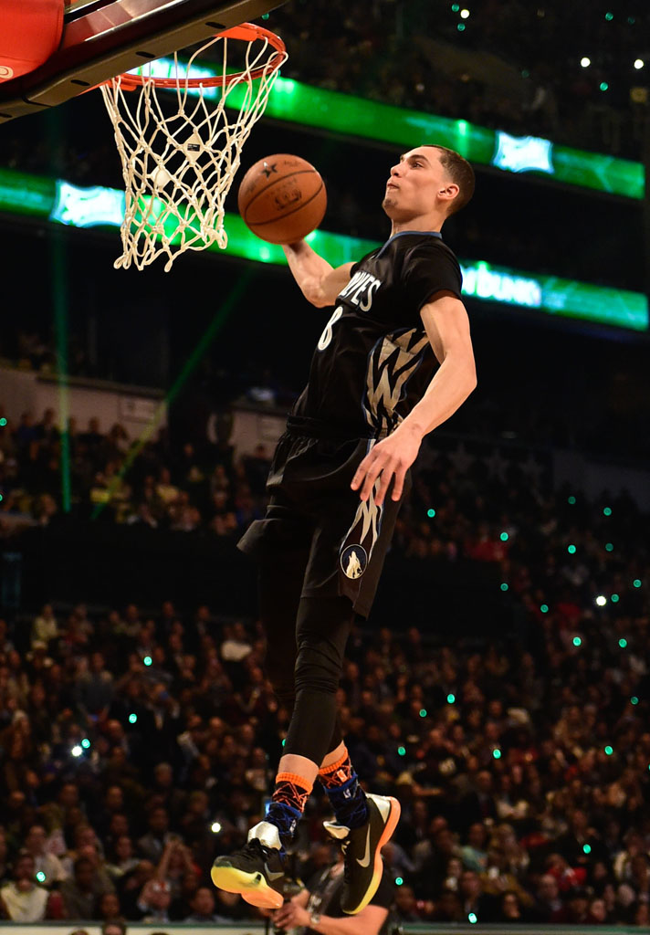 the latest 8fce5 90c79 Zach LaVine wearing Nike Kobe X 10 All-Star (1)