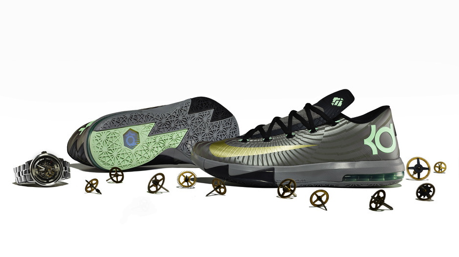 Nike KD 6 Precision Timing colorway