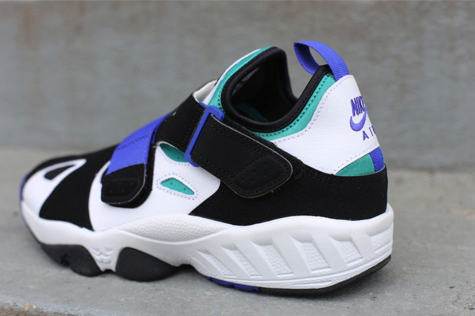 Nike Air Trainer Huarache 94 White Lapis Black 554991-100 (3)