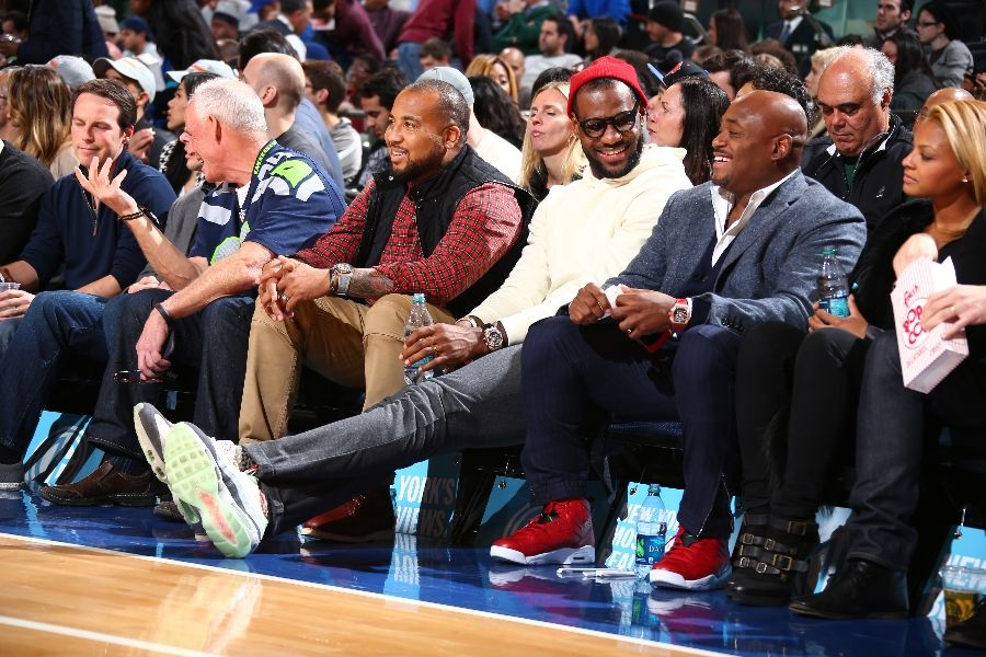 where can i buy san francisco autumn shoes LeBron James Wears Unexpected Nike Air Max 95 in New York ...