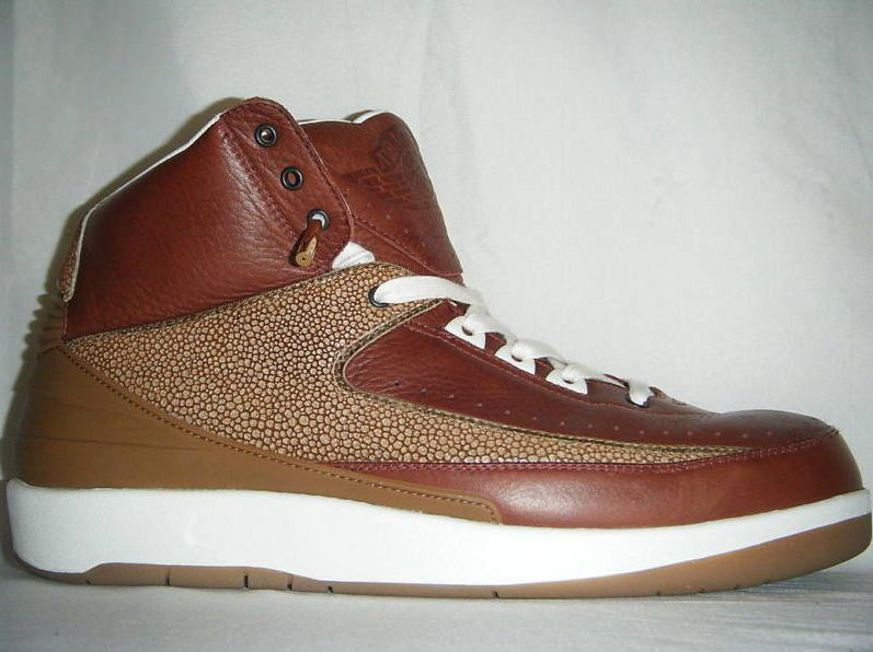 Air Jordan 2 Vero Cuoio Sample