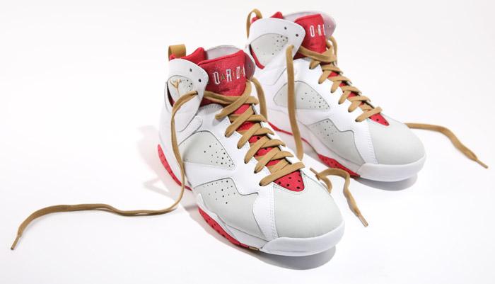 half off 96b54 2a2e5 Air Jordan Retro 7 YOTR Light Silver Metallic Gold True Red White 459873-005