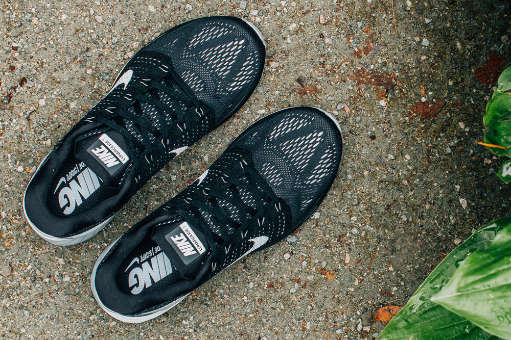 Nike LunarGlide 7. Color  Black Summit White-Anthracite Style    747355-001 b79c5977baae