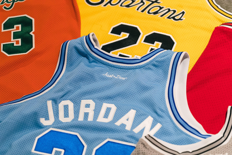 Just Don Air Jordan Jerseys