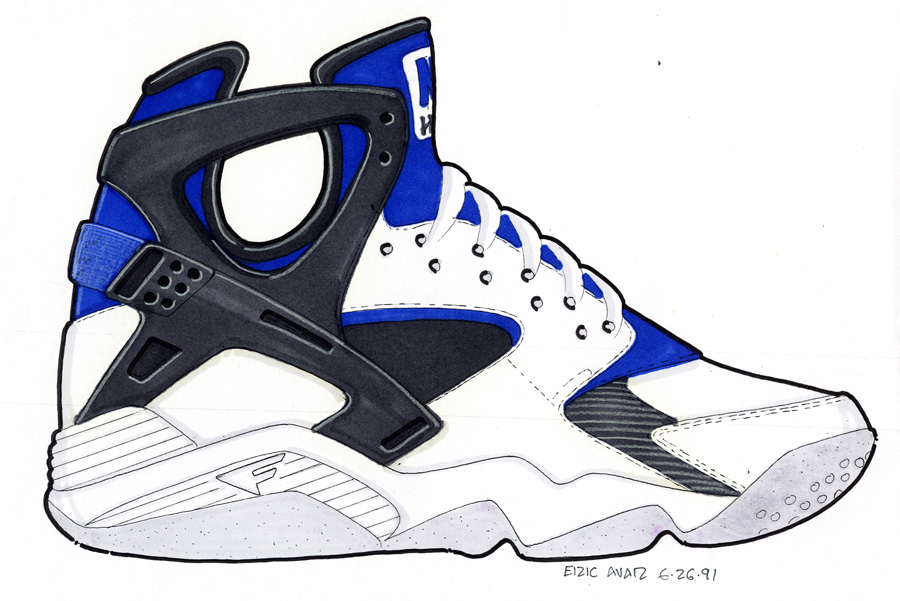 2fc420a241e8 As Told By Tinker Hatfield    How The Huarache Was Born
