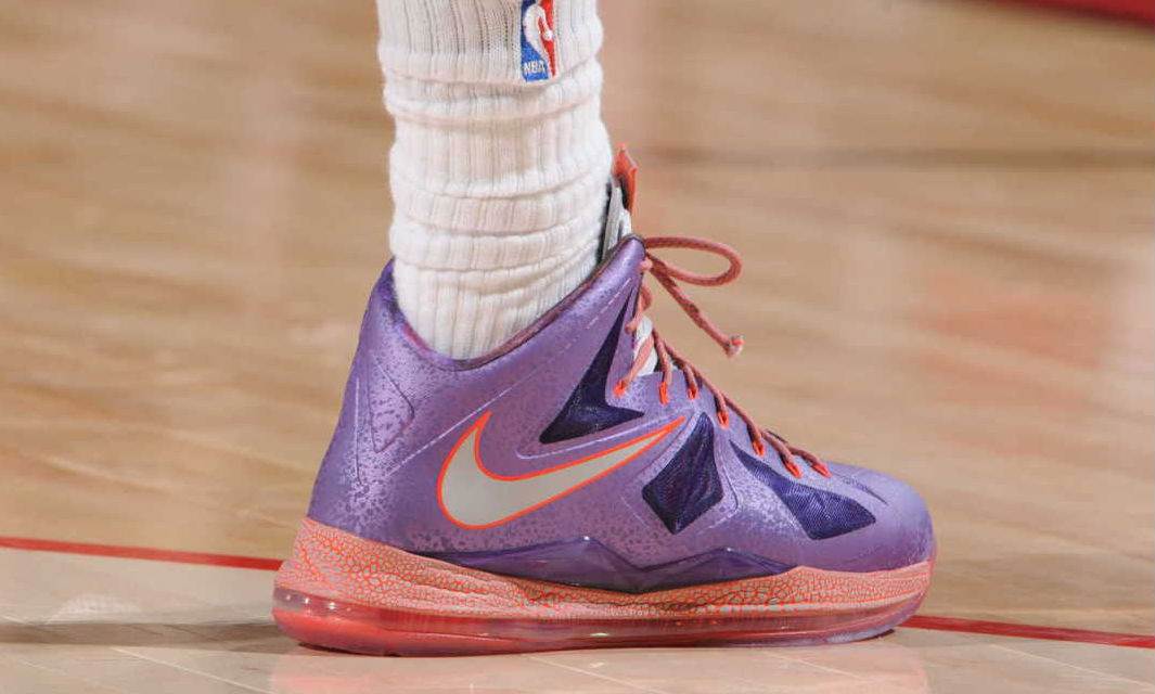 LeBron James wearing Nike LeBron X All-Star Area 72 (2)