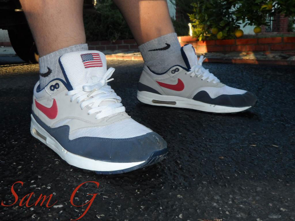 Spotlight // Forum Staff Weekly WDYWT? - 10.20.13 - Nike Air Max 1 USA by lashoecollector