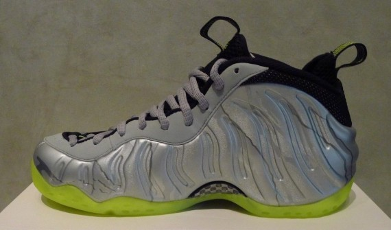 best service 84eac bd9cc Nike Air Foamposite One - Metallic Silver/Volt | Sole Collector