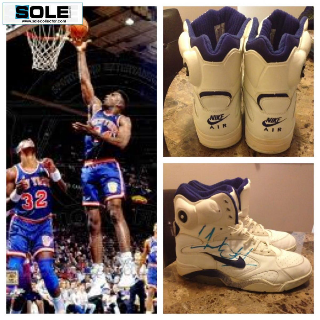 Spotlight // Pickups of the Week 12.29.12 - Nike Air Force 180 High Pump Charles Oakley Game Worn & Signed - eskaht36