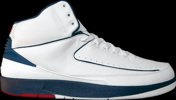 Carmelo Anthony wearing Air Jordan 2 Retro Olympic PE (2)