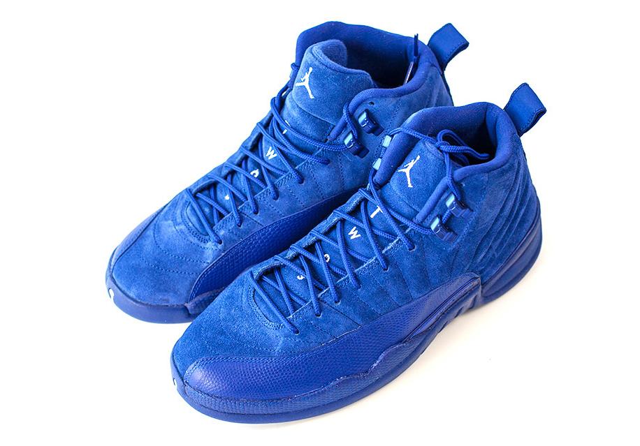 Air Jordan 12 130690-400 Blue