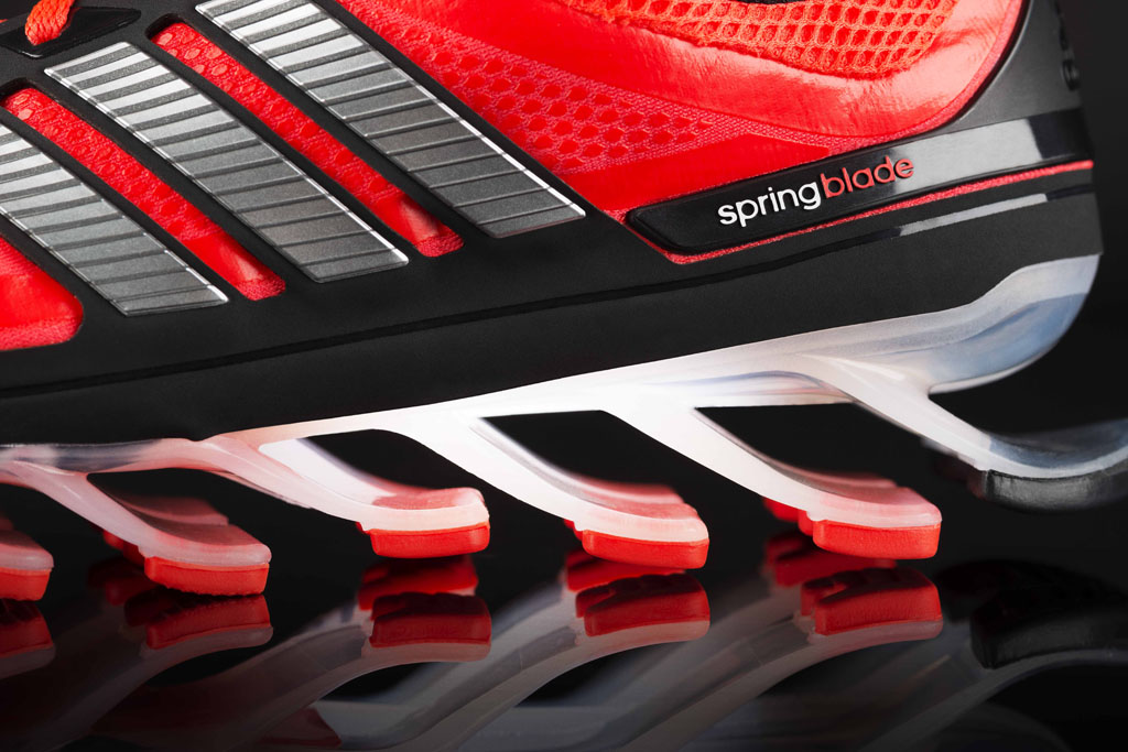 cb020e8efe5f adidas Unleashes The SpringBlade Running Shoe