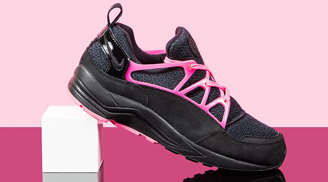 Nike Huarache Light Black Pink Yeezy
